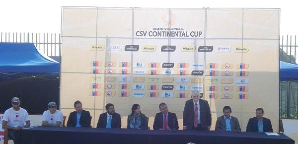 LANZAMIENTO DE CONTINENTAL CUP REUNIÓ A LA DUPLA NÚMERO 1 DE CHILE Y