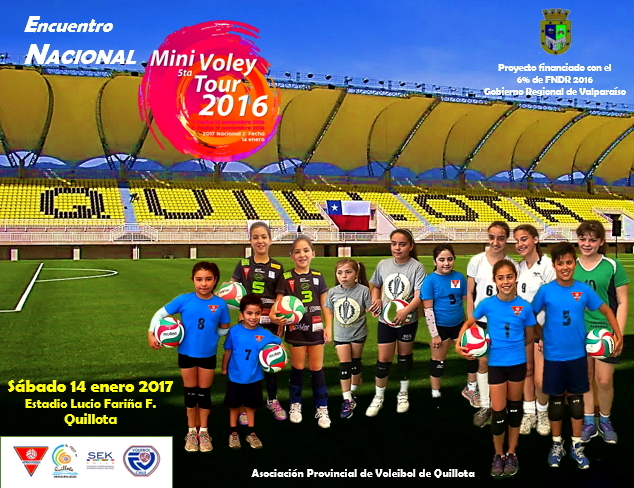LIENZO FINAL NACIONAL MINIVOLEY 2016