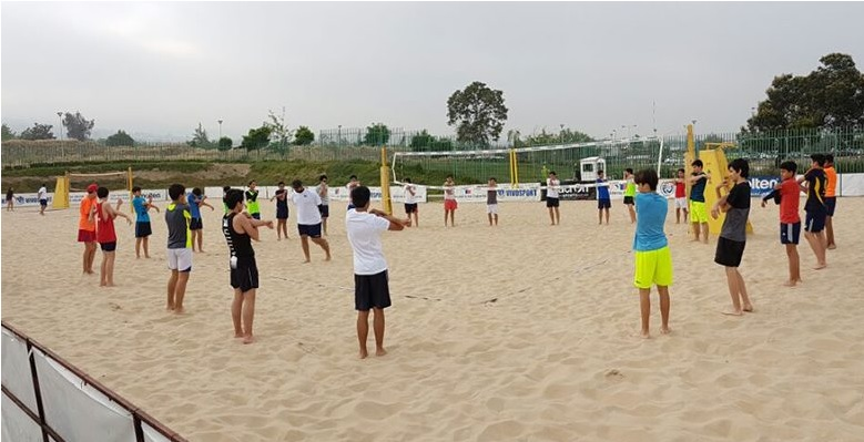 CAPACITACION VOLLEY PLAYA